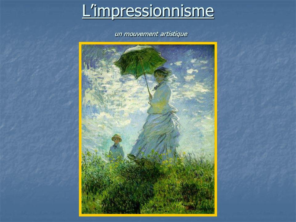 Limpressionnisme un mouvement artistique