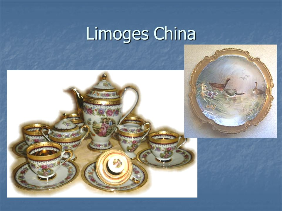 Limoges China