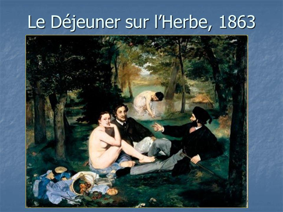 Le Déjeuner sur lHerbe, 1863