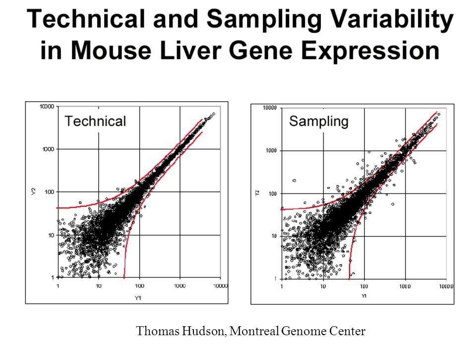 Variations importantes des niveaux dexpression entre chromosomes
