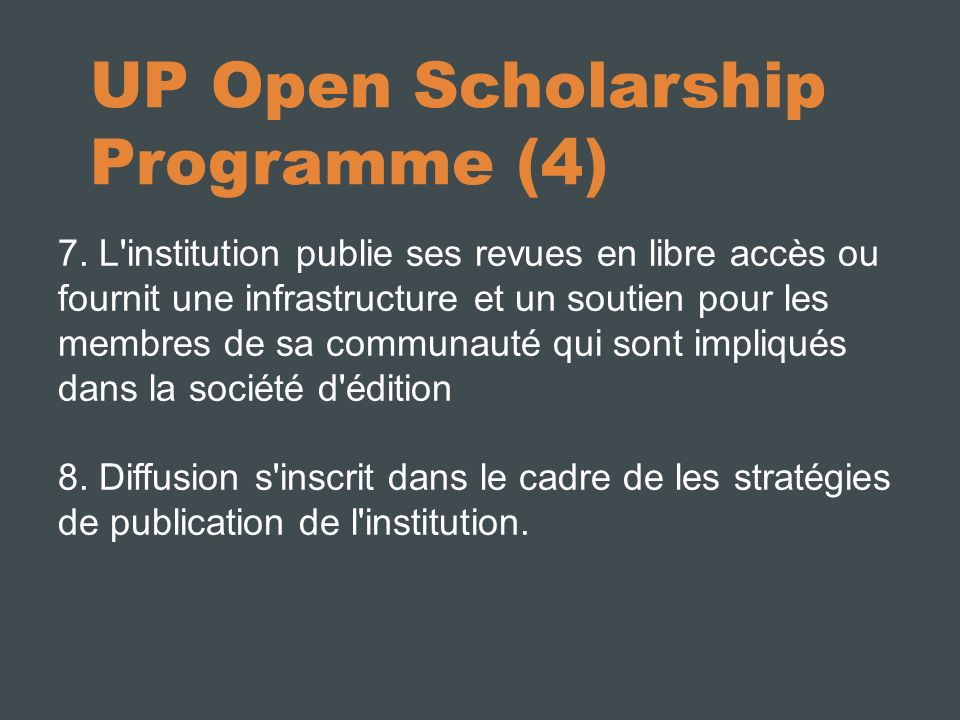 UP Open Scholarship Programme (4) 7.