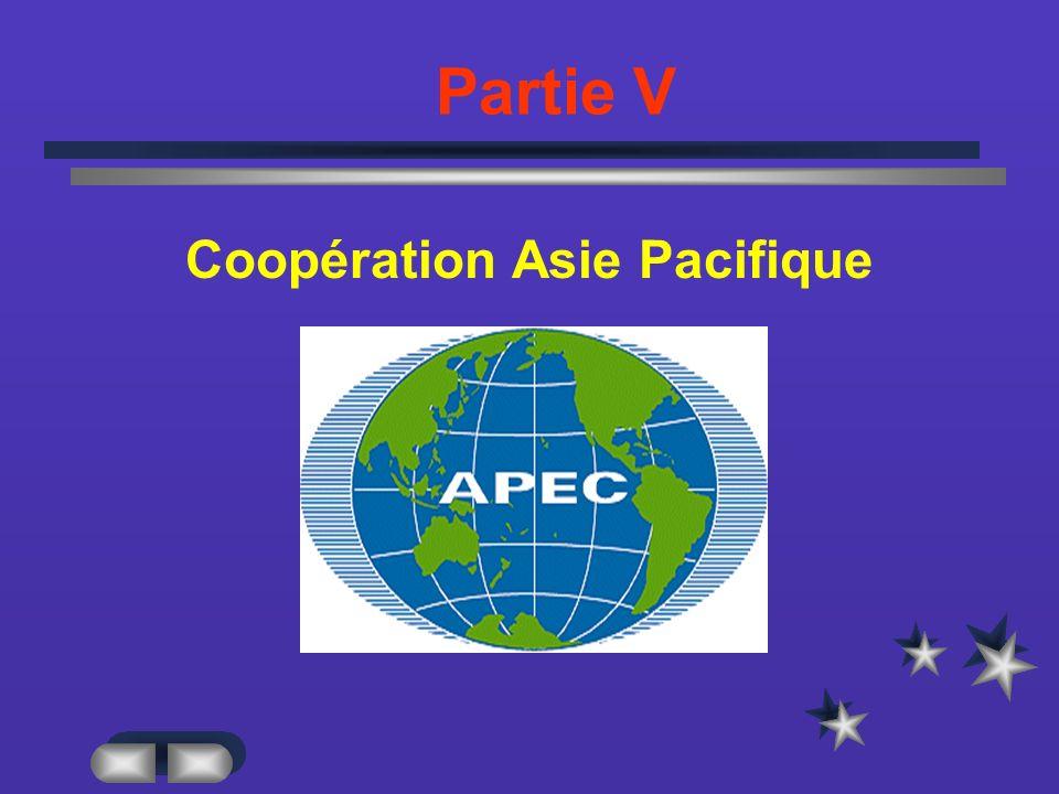 Partie V Coopération Asie Pacifique
