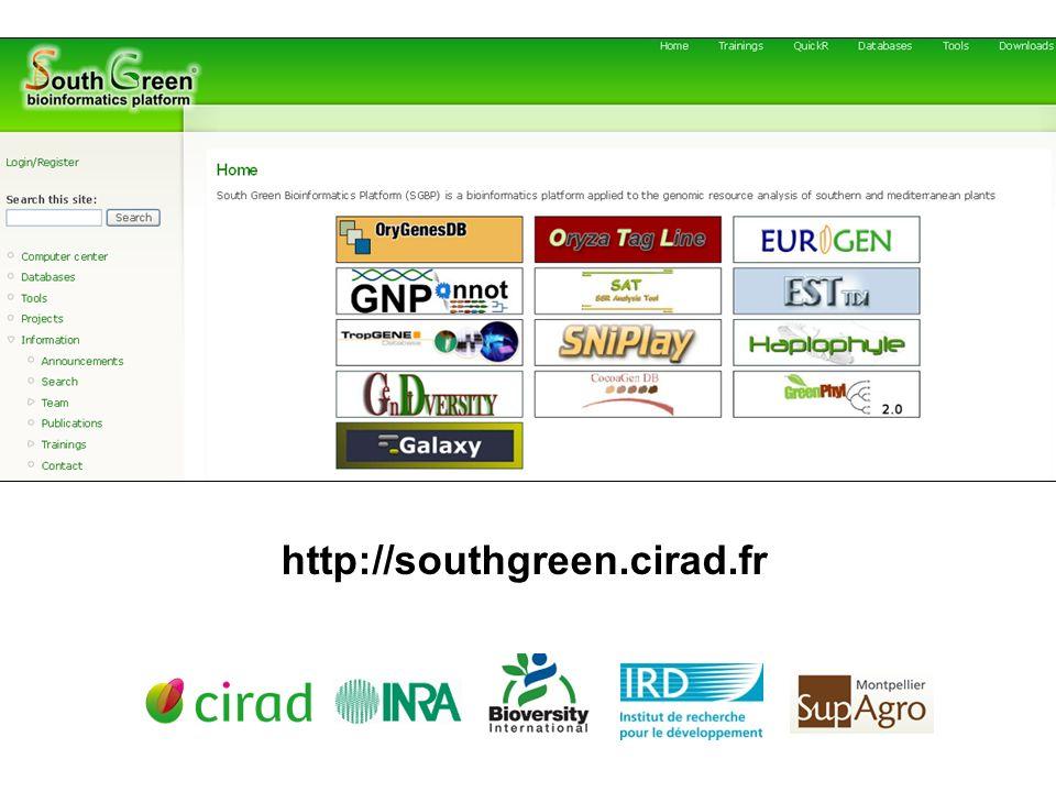 http://southgreen.cirad.fr