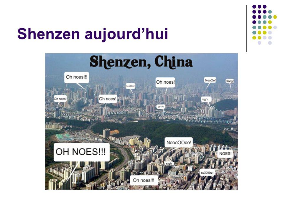 Shenzen aujourdhui