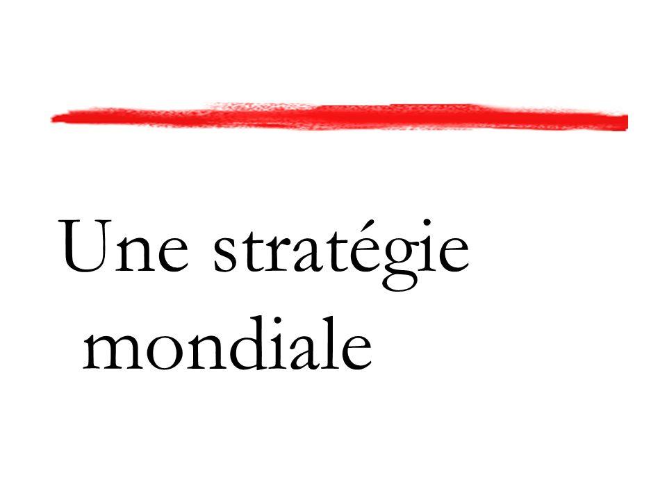Une stratégie mondiale