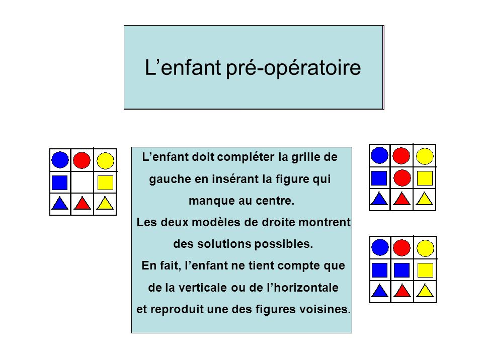 To check if this is a square, the child will first count the horizontal cells and then the vertical ones to conclude that its really a square.
