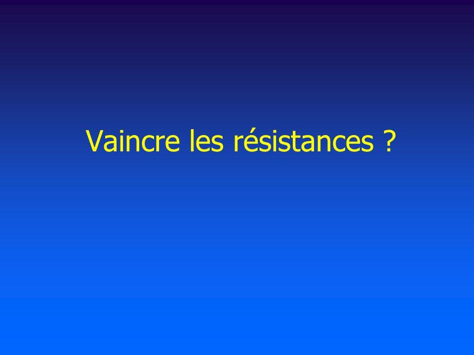 Vaincre les résistances ?