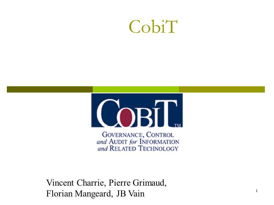 1 CobiT Vincent Charrie, Pierre Grimaud, Florian Mangeard, JB Vain
