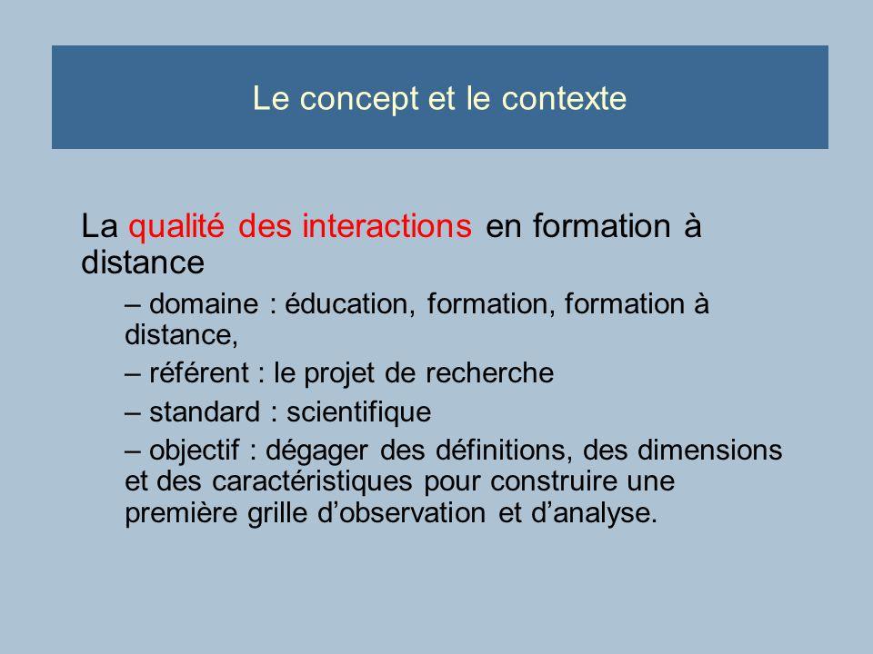 Les résultats partiels (références théoriques dans le domaine) Interactions humaines : propriété dinterdépendance et dinfluence réciproque dindividus intentionnels au sein de groupes sociaux.