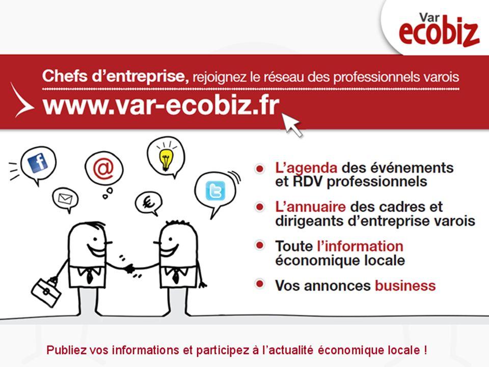 Cliquez et modifiez le titre Cliquez pour modifier les styles du texte du masque Deuxième niveau 1er Forum VAR ECOBIZ – 15 novembre 2011