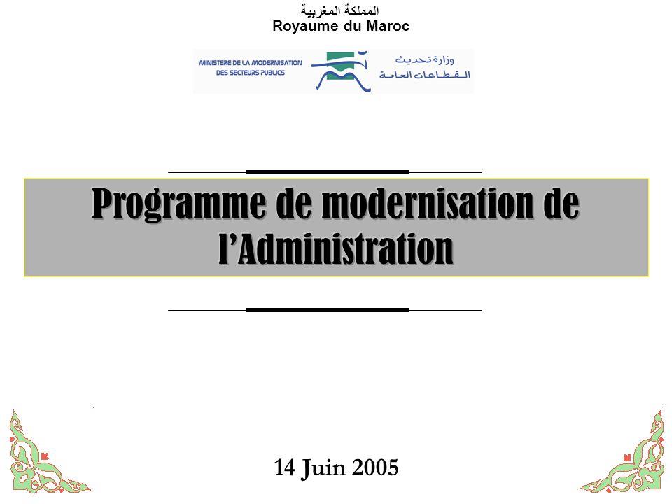 1 المملكة المغربية Royaume du Maroc 14 Juin 2005