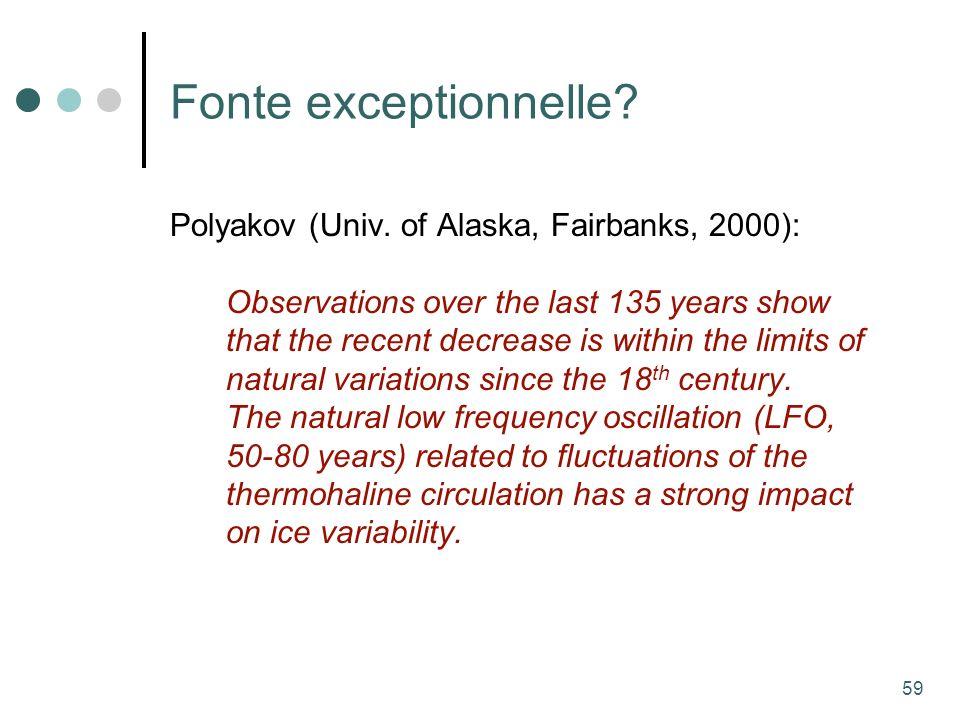 59 Fonte exceptionnelle. Polyakov (Univ.