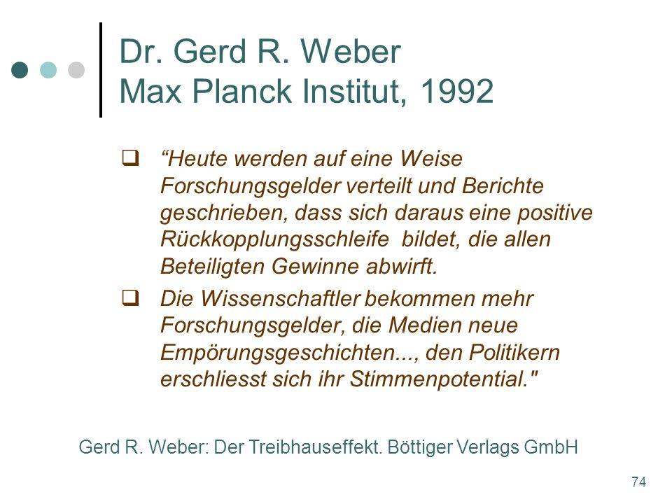 74 Dr. Gerd R.