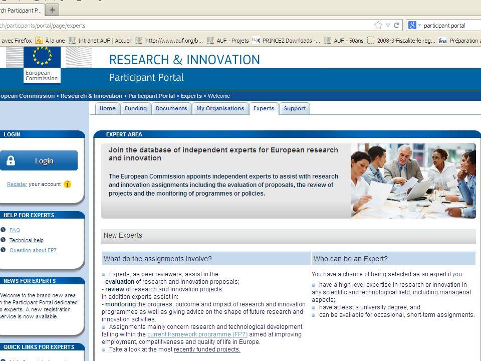 2-IDEE Objectif: Encourager lexcellence scientifique entre les chercheurs en Europe Moyen: COMPETITION ENTRE LES EQUIPES Appels à proposition bottom-up Projet déposé par une équipe individuel sous le nom dun chercheur, (mais possibilité dassocier des chercheurs venant de plusieurs laboratoires et de tous les pays) Projets de recherche fondamentale/exploratoire et risqués Recherche aux frontières de la connaissance : Le programme «Idées» permettra de financer les recherches de pointe de lUnion européenne.