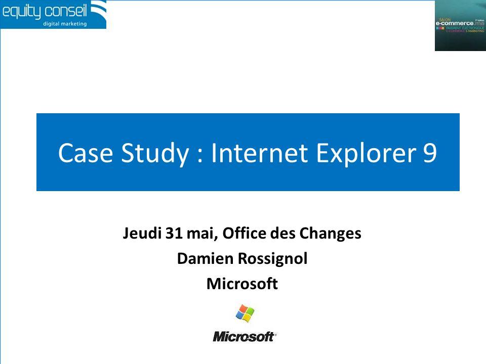 1-Mettre en scène sa présence digitale E-marketing, Office des Changes, 31 mai 2012 (*)