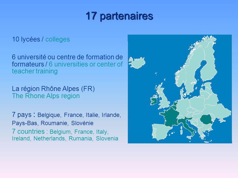 Two European meetings Dijon (FR) – Rotterdam (NL), December 2002 Cibeins (FR), May 2004 Un projet dans la continuité du projet PPe Pee Projet personnel de lélève et projet éducatif détablissement Comenius 2.1 de formation par la recherche (1997-2000) Two European Seminars Comenius 2.2 Quimper (FR), May 2000 Mountbellew (IE), April 2002 Un réseau déchanges de pratiques innovantes et collaboratives, EPIC A project in the continuity of the PPe Pee project student personal development and educational project of the college Comenius 2.1 of training by action research (1997-2000) Deux séminaires européens Comenius 2.2 Quimper (FR), mai 2000 Mountbellew (IE), avril 2002 A network of exchanges of innovating and collaboratives practices, EPIC Deux rencontres européennes Dijon (FR) – Rotterdam (NL), décembre 2002 Cibeins (FR), mai 2004