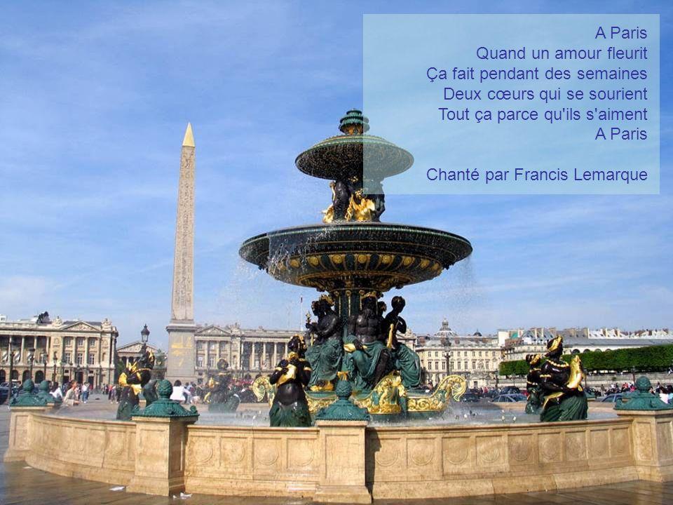 Aux amoureux de Paris Faites avancer à votre rythme le diaporama en cliquant sur les photos…