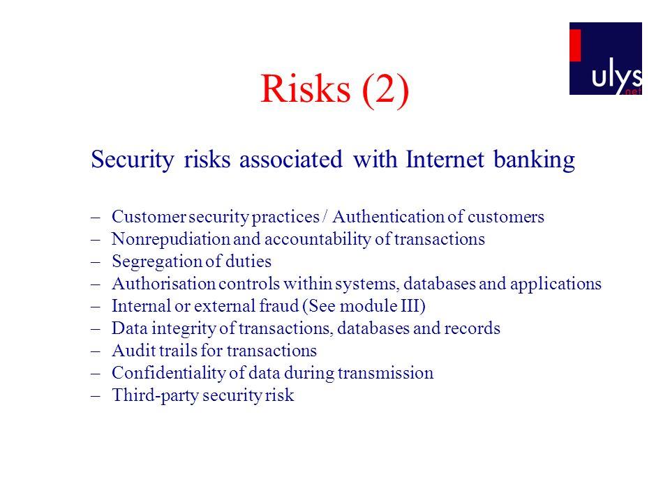Application Ecobank webiste study case: –https://www.tib.ecobank.com/scripts/ecobank.dllhttps://www.tib.ecobank.com/scripts/ecobank.dll Belgian Online Bank samples : –https://secure.ing.be/eb/homebank/EN/index.jsphttps://secure.ing.be/eb/homebank/EN/index.jsp –https://www.fortisbanking.be/pics/BE/F/fr/anon/priv/News/securite _internet_2_.htmlhttps://www.fortisbanking.be/pics/BE/F/fr/anon/priv/News/securite _internet_2_.html –http://www.dexia.be/Fr/Particulier/BankingManagement/ViaDexia DirectNet/demonstrations.htmhttp://www.dexia.be/Fr/Particulier/BankingManagement/ViaDexia DirectNet/demonstrations.htm