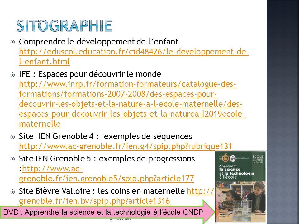 Comprendre le développement de lenfant http://eduscol.education.fr/cid48426/le-developpement-de- l-enfant.html http://eduscol.education.fr/cid48426/le