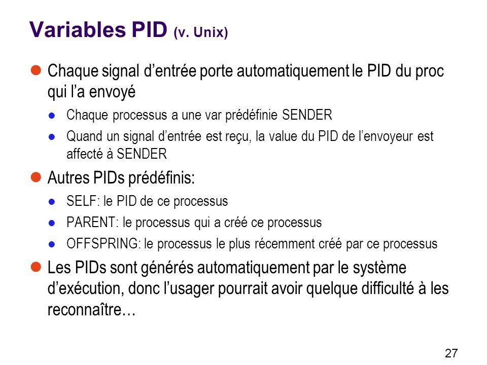 27 Variables PID (v.