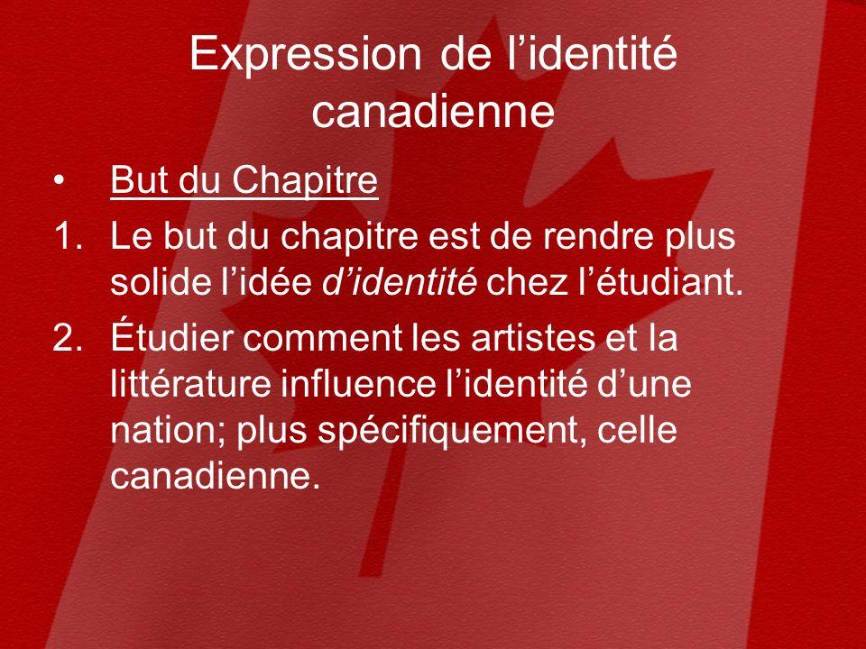 Pour vous, cest quoi lidentité canadienne? AvantAprès