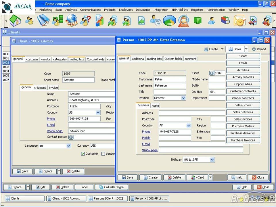 2.4/26 Les systèmes dinformation de gestion Chapitre – 0 à côté des SI de l'entreprise Cyril0Upjv@gmail.com Exemple doutil : le CRM Figure 0-4