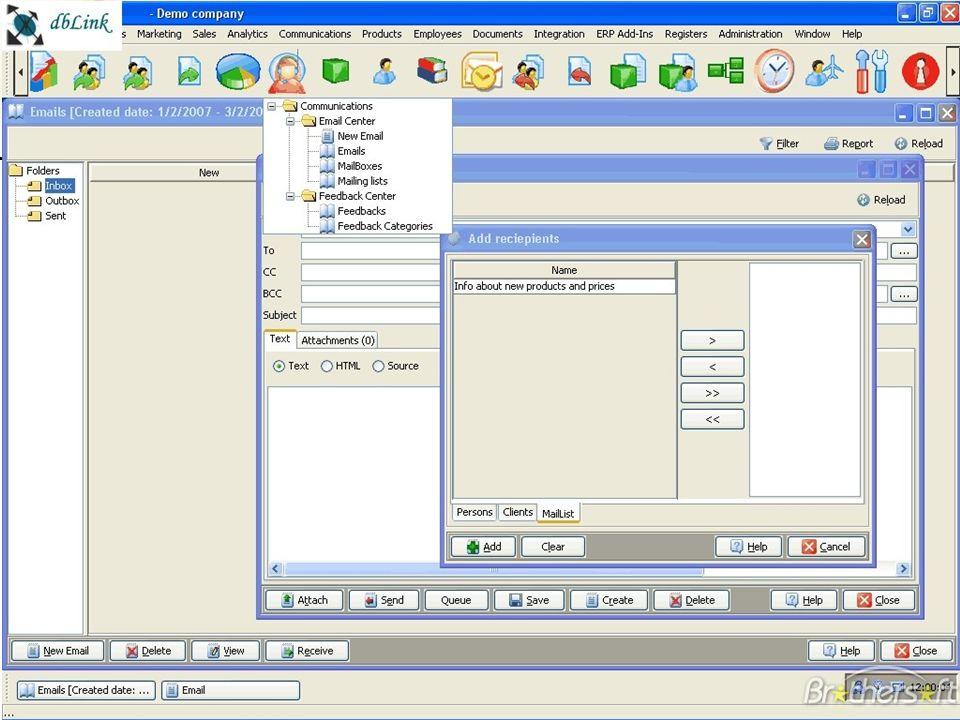 2.8/26 Les systèmes dinformation de gestion Chapitre – 0 à côté des SI de l entreprise Cyril0Upjv@gmail.com Exemple doutil : le CRM Figure 0-4