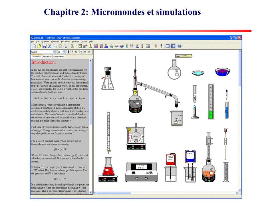 Chapitre 2: Micromondes et simulations