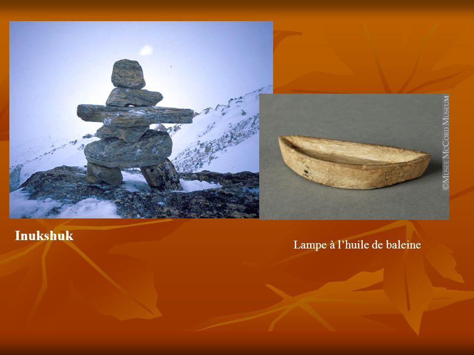 Inukshuk Lampe à lhuile de baleine