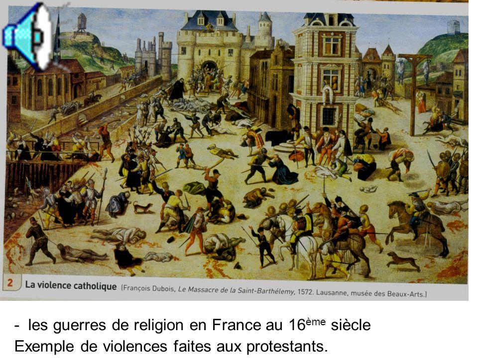 2. Une diffusion difficile de cette nouvelle religion Combien de protestantismes? Où? En France? - Diffusion du protestantisme en Europe?