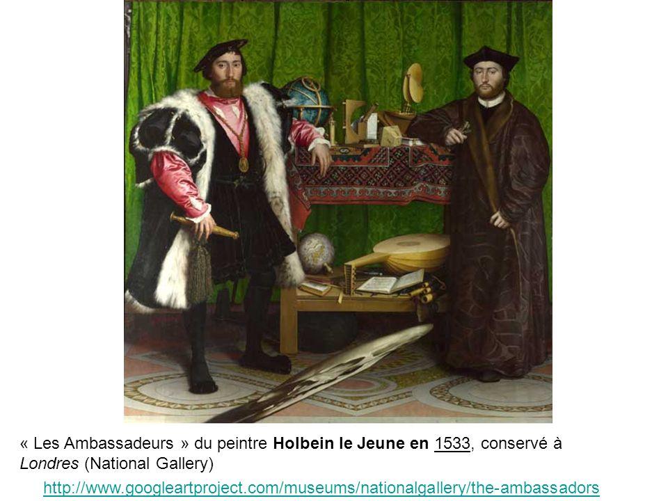 B. En quoi les peintres sont les reflets de leur époque? (2h) Étude dun document : une peinture