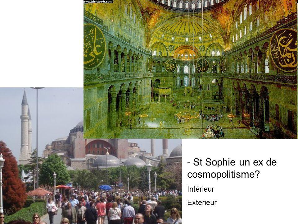 - Des échanges militaires et culturels La prise de Constantinople par les Turcs, par Jean Chartier, enluminure issue de l'ouvrage Chronique, XV°siècle