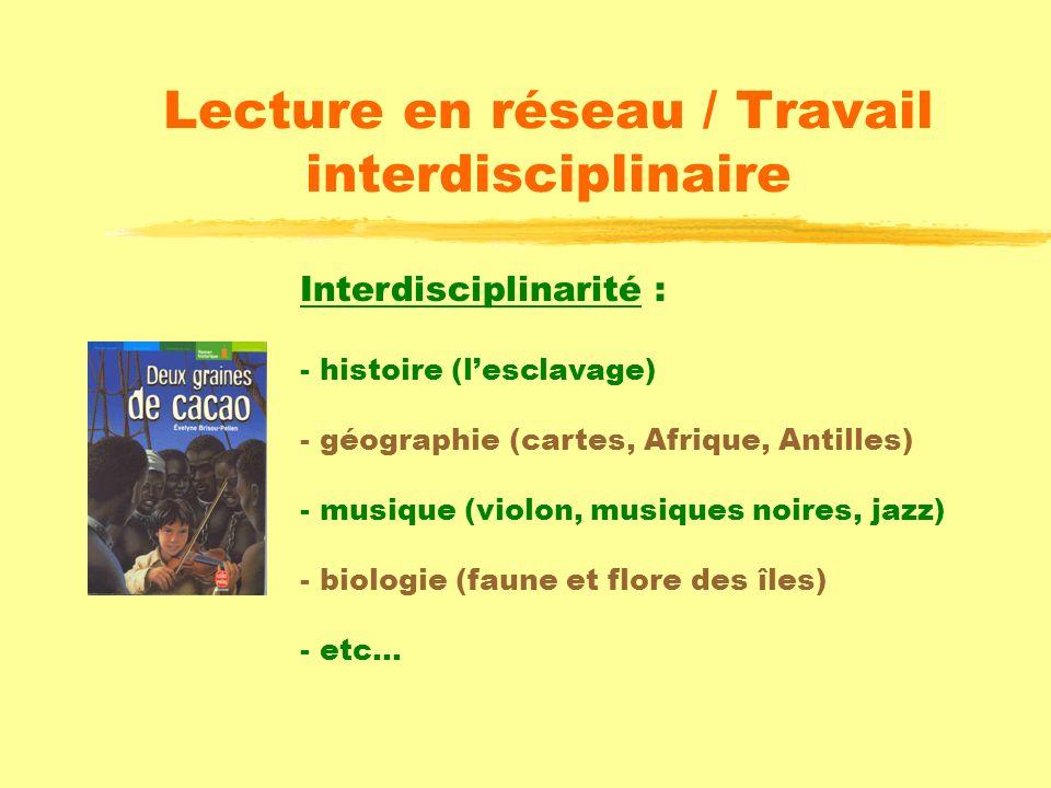 Lecture en réseau / Travail interdisciplinaire Liste indicative pour des lectures en réseau : Les poneys de minuit, J. RUMBOLD Deux enfants se retrouv