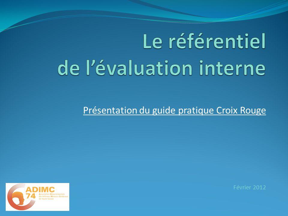 Présentation du guide pratique Croix Rouge Février 2012