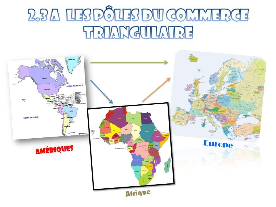 Amériques Europe Afrique
