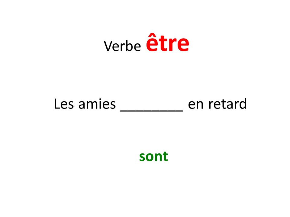 Vocabulaire French class Le cours de français
