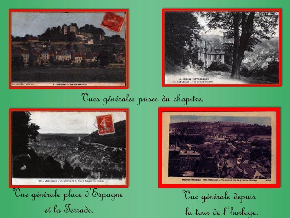 Route de Clermont. Quartier des abattoirs. Route de Pontarion. Vallée de la Beause.