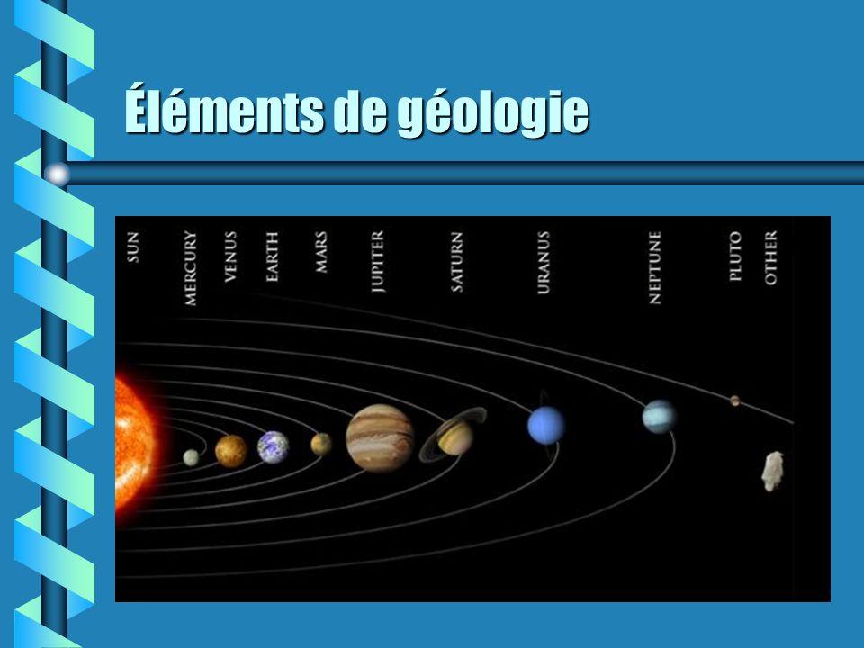 Éléments de géologie 3. Principe de lidentité paléontologique.