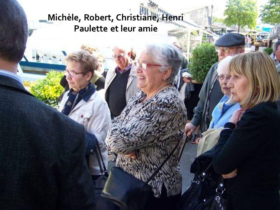 Henri et Paulette Volpelière Michèle Ripoll, amie de Christiane Banse