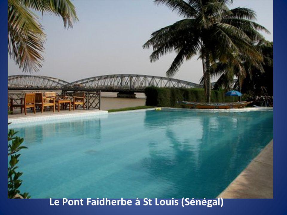 Le Pont Faidherbe à St Louis (Sénégal)