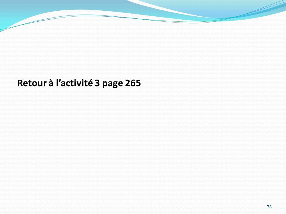 Retour à lactivité 3 page 265 78
