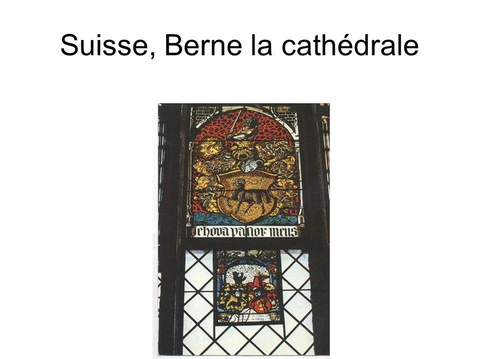 Suisse, Berne la cathédrale