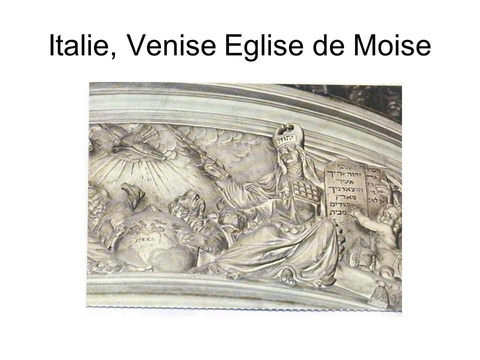 Italie, Venise Eglise de Moise