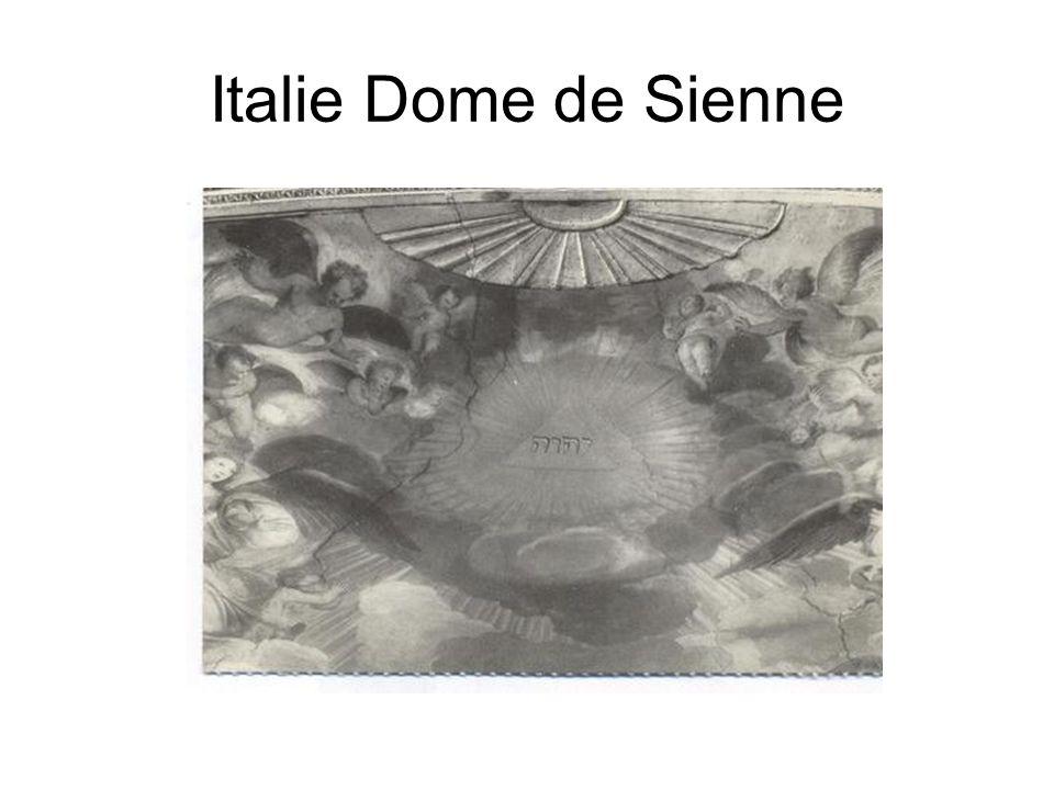 Italie Dome de Sienne