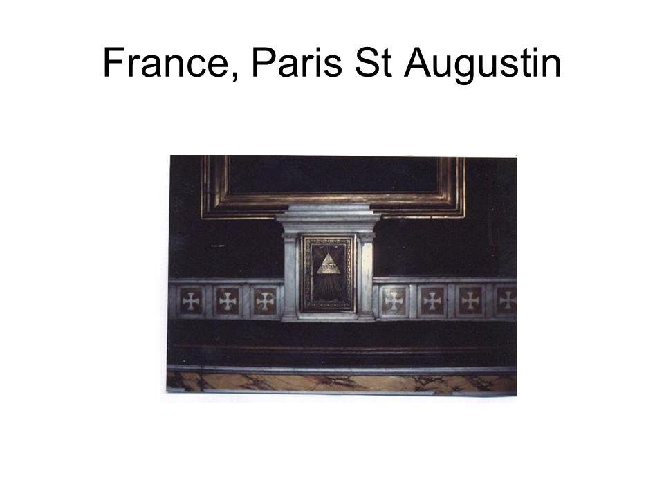 France, Paris St Augustin