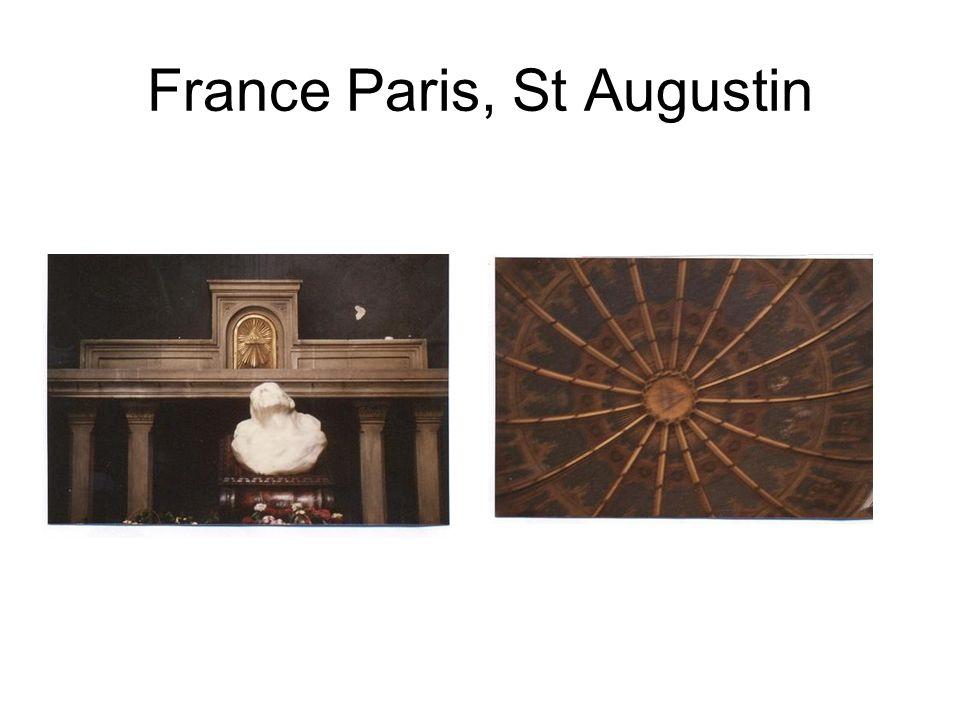 France Paris, St Augustin