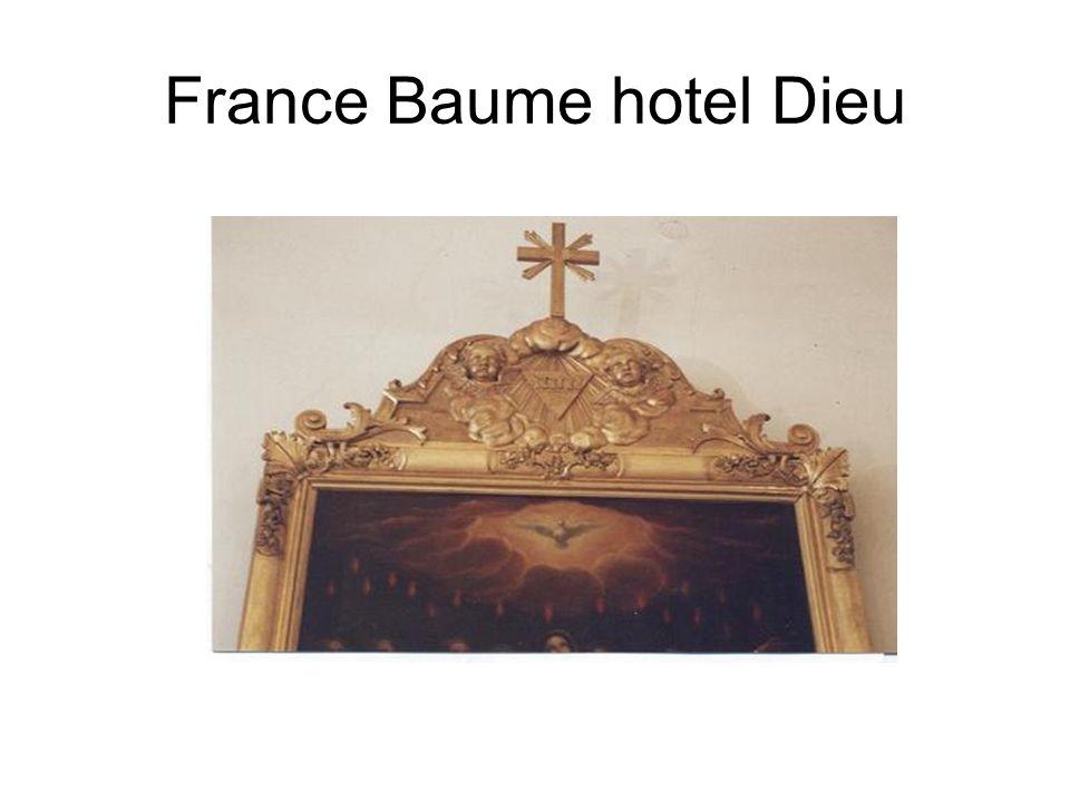France Baume hotel Dieu
