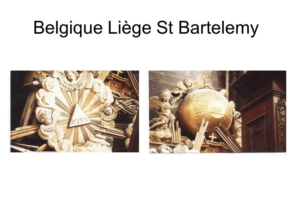 Belgique Liège St Bartelemy