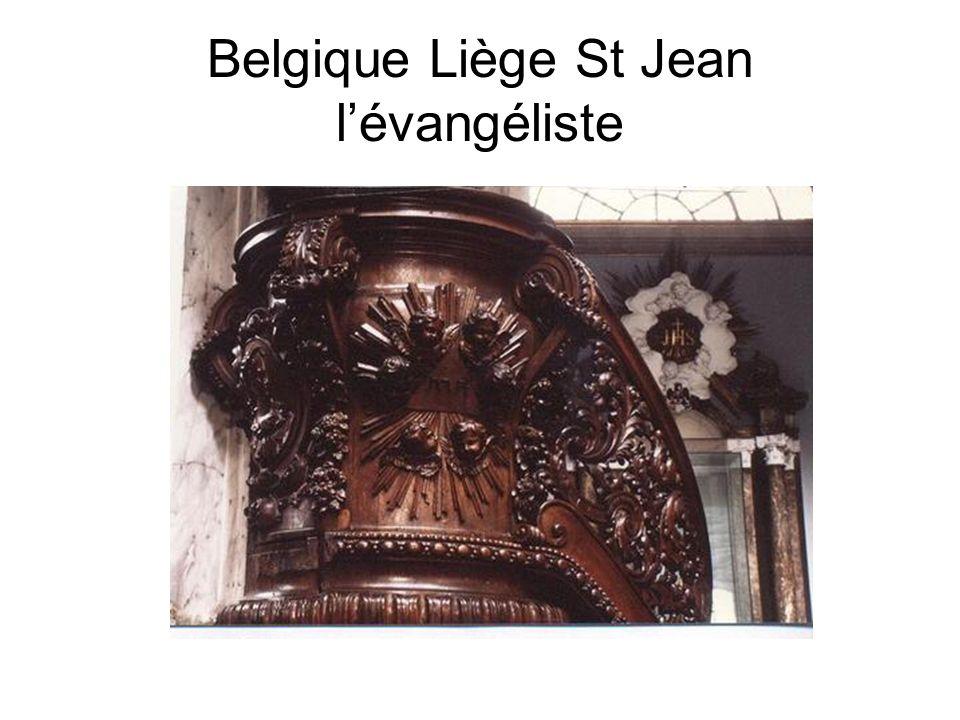 Belgique Liège St Jean lévangéliste