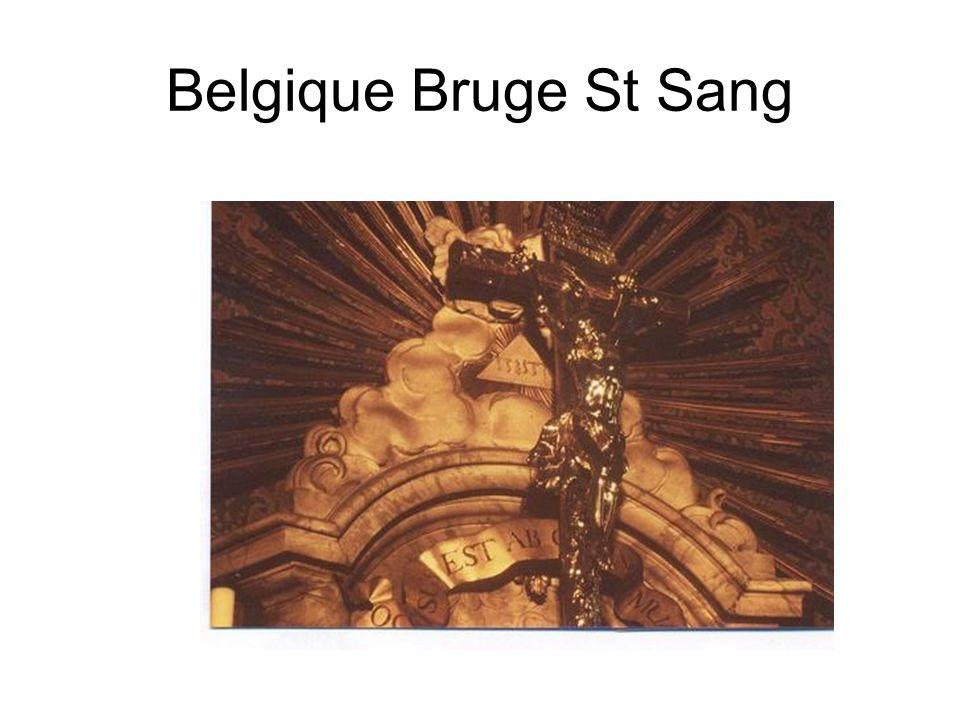 Belgique Bruge St Sang